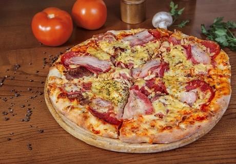Пицца как в пиццерии рецепт с фото