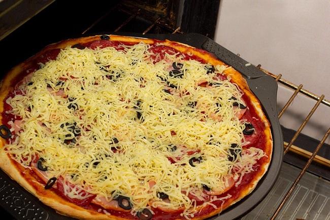 Рецепт пиццы в духовке в домашних условиях пошаговый рецепт с фото